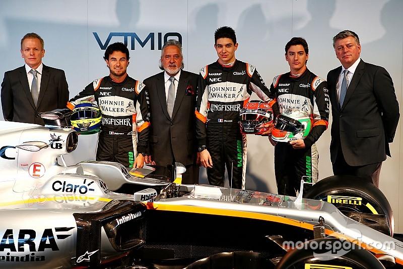"""Force India: """"Verwachten zwaardere tegenstand in 2017"""""""