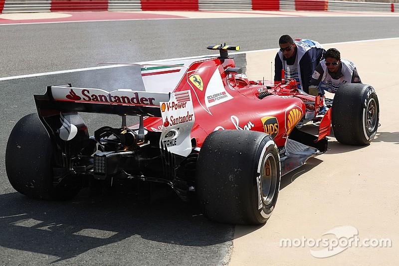 Ferrari намерена восстановить мотор, отказавший у Райкконена в пятницу