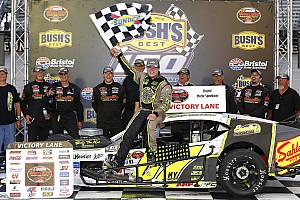 NASCAR Breaking news Patrick Emerling makes first NASCAR win memorable at Bristol
