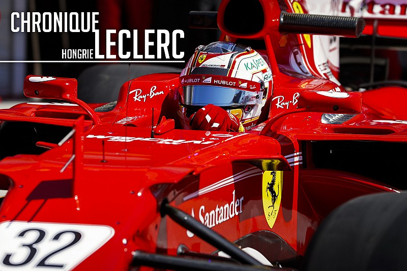 Chronique Leclerc - D'une disqualification à un test de rêve en F1
