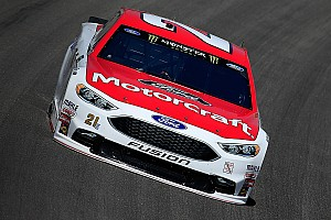 NASCAR Cup Qualifying report Ryan Blaney earns first career pole at Kansas