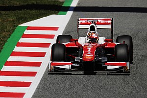 FIA F2 Qualifying report Barcelona F2: Leclerc bags pole with last-gasp lap