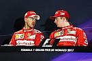 Vettel niega que haya habido órdenes de equipo