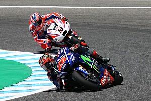 MotoGP Test Test Jerez, Ore 15: pochi miglioramenti, Vinales rimane in vetta