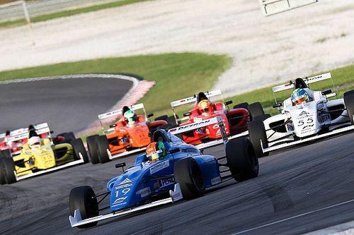 No cars finish Formula 4 race at Sepang