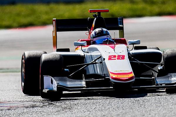 Marcos Siebert fue sexto en los test de GP3 en Valencia