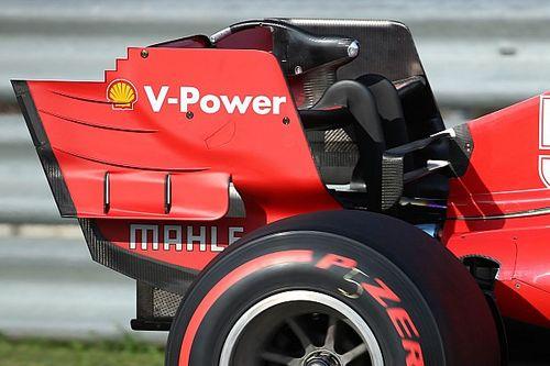 Ferrari'nin dibe vurduktan sonra getirdiği teknik güncellemeler