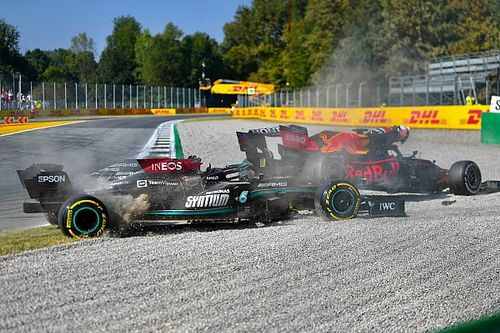 F1王座争うふたりがイギリス&イタリアで接触……26年前に同じ経験をしたデイモン・ヒル「自制心の欠如を見せられた」