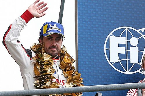 """Alonso says #8 Toyota crew has to """"enjoy"""" luck"""