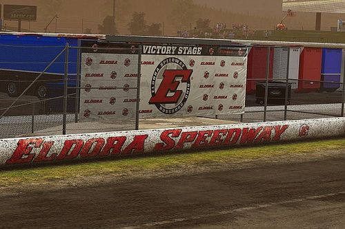 Stewart-Haas Esports sweeps Eldora Pro League race