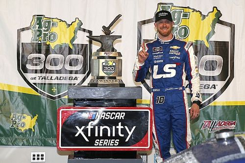 Jeb Burton's NASCAR career has been 'a tough road'
