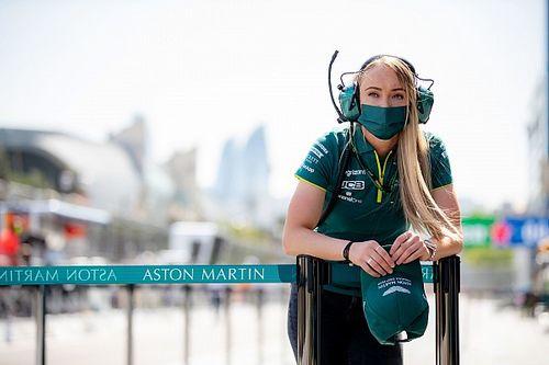 Jessica Hawkins, des cascades dans James Bond à Aston Martin