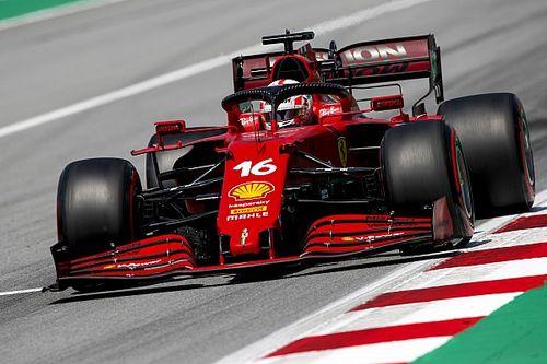 Leclerc az első Q3-as körét jobbnak érezte, de így is elégedett