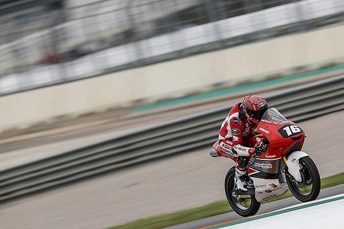 Mario Suryo Aji Tercepat FP2 CEV Moto3 Catalunya