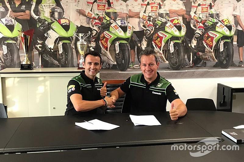 Barberá avec le Puccetti Racing pour la fin de saison de Supersport