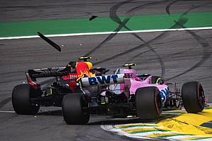 Fotogallery F1: il discusso incidente tra Verstappen e Ocon in Brasile