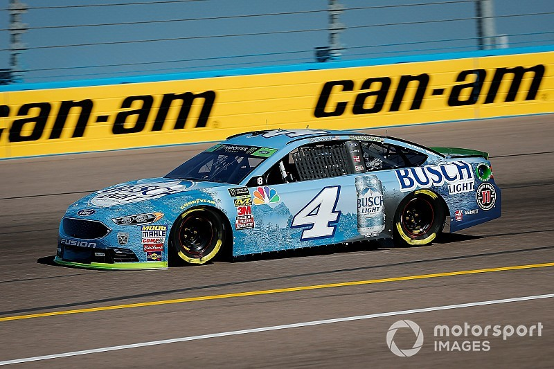 Kevin Harvick fastest in Saturday's first practice at Phoenix