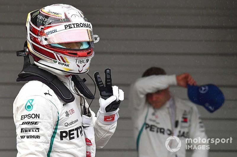 Mercedes planeja ordem de equipe