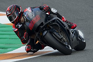 GALERI: Debut Lorenzo geber Honda RC213V