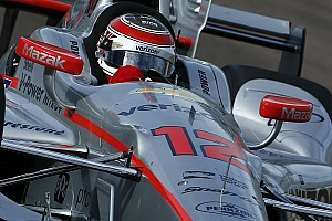IndyCar Testing report Power edges Chilton in frantic final minutes of test