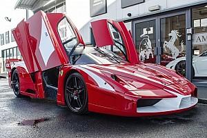 Auto Actualités L'unique Ferrari Enzo FXX homologuée pour la route est en vente