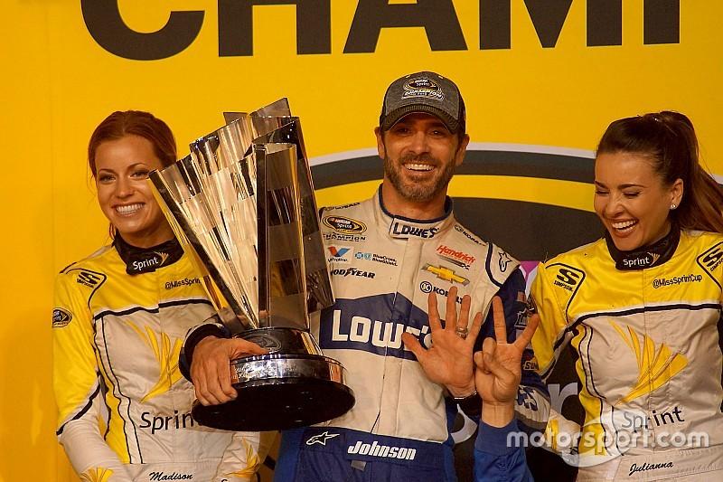 """Jimmie Johnson nach NASCAR-Titel Nummer 7: """"Altes Chase-Format gefällt mir besser"""""""