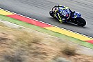 MotoGP Rossi: pozitív péntek volt, de várjuk meg a száraz pályát
