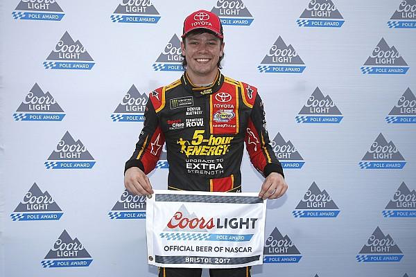 NASCAR Cup Qualifiche Il rookie Erik Jones centra la prima pole a Bristol