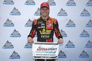 NASCAR Cup Qualifying report Rookie Erik Jones captures first Cup pole at Bristol