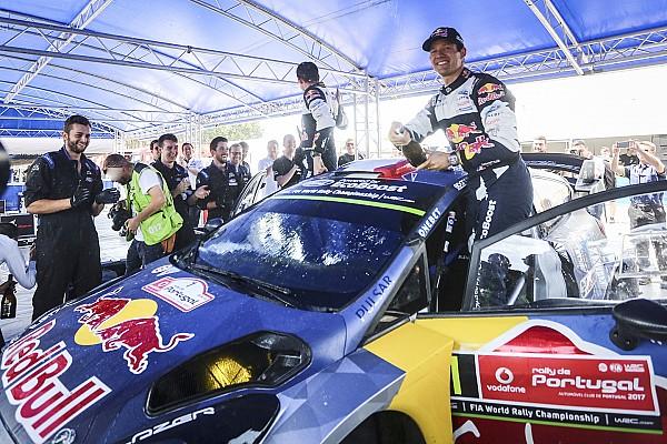WRC BRÉKING Ogier egy kemény csatában és új autóval nyert Portugáliában