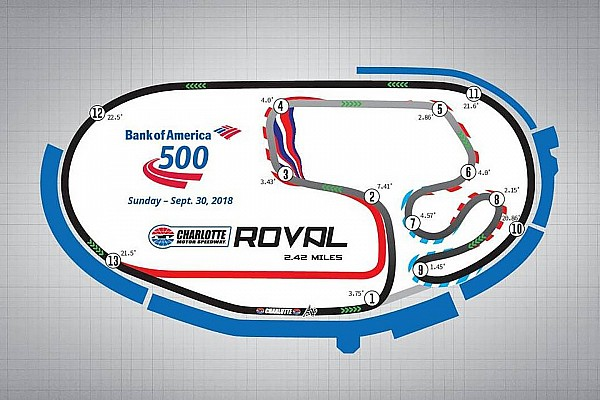 NASCAR Cup Noticias de última hora Cambios notables en el calendario de NASCAR en 2018