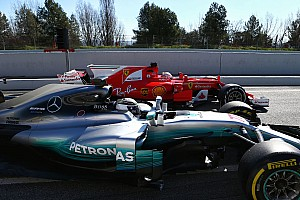 Test Barcellona, Day 3: Mercedes davanti a Ferrari, ma che testa a testa!