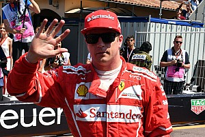 Fórmula 1 Relato de classificação Raikkonen surpreende e é pole em Mônaco; Hamilton é 13º