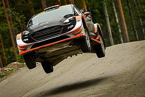 WRC Самое интересное Головокружительный прыжок Остберга на Ралли Финляндия: видео