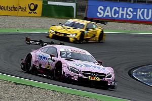 DTM Race report Hockenheim DTM: Auer fights off Glock in tense opener