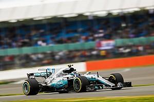 Formula 1 Practice report GP Inggris: Mercedes 1-2, Bottas masih yang tercepat di latihan kedua