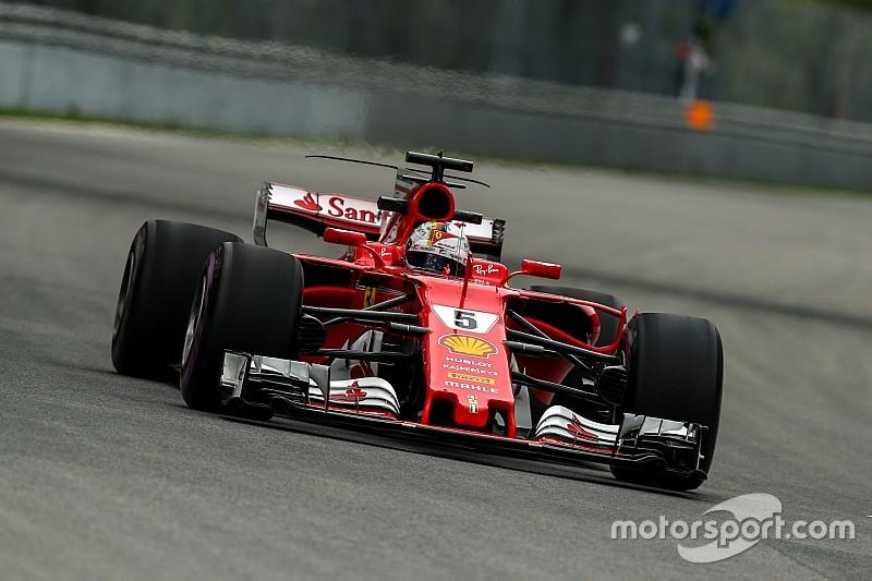 """【F1】ハミルトンに""""邪魔""""されたベッテル「故意だと思っていないが…」"""