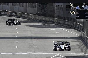 IndyCar Jelentés a versenyről IndyCar: Rahal duplázott Detroitban!