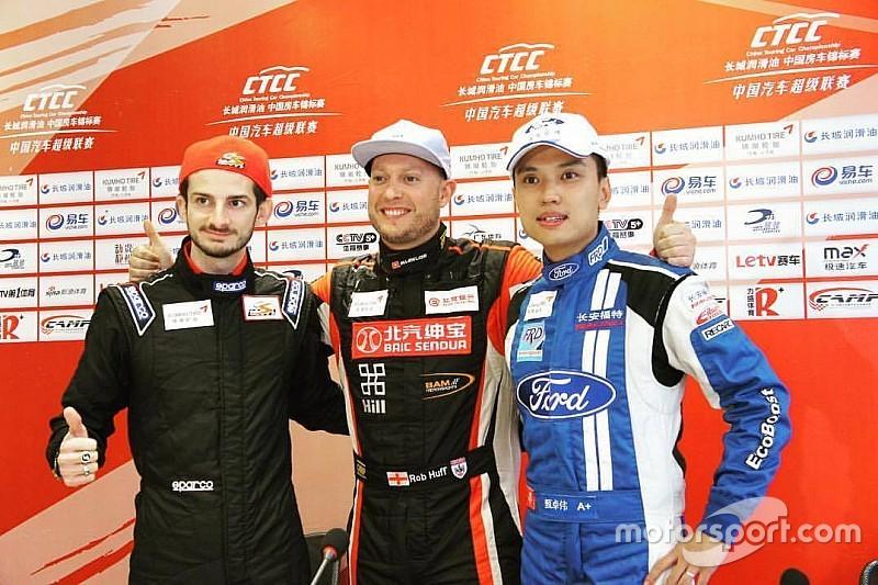 Alex Fontana subito a podio in Cina con la Kia!
