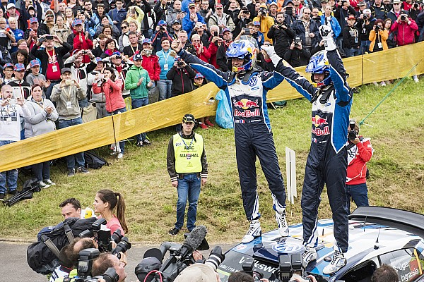 Germany WRC: Ogier seals victory, Sordo clings to second