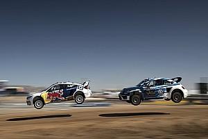 Global Rallycross Race report Tanner Foust wins Red Bull Global Rallycross Phoenix I