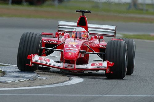 The high point of Barrichello's Ferrari F1 career