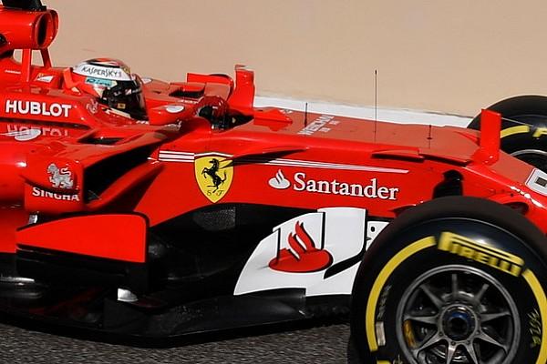 Ufficiale: il Banco Santander saluta la Ferrari alla fine del 2017
