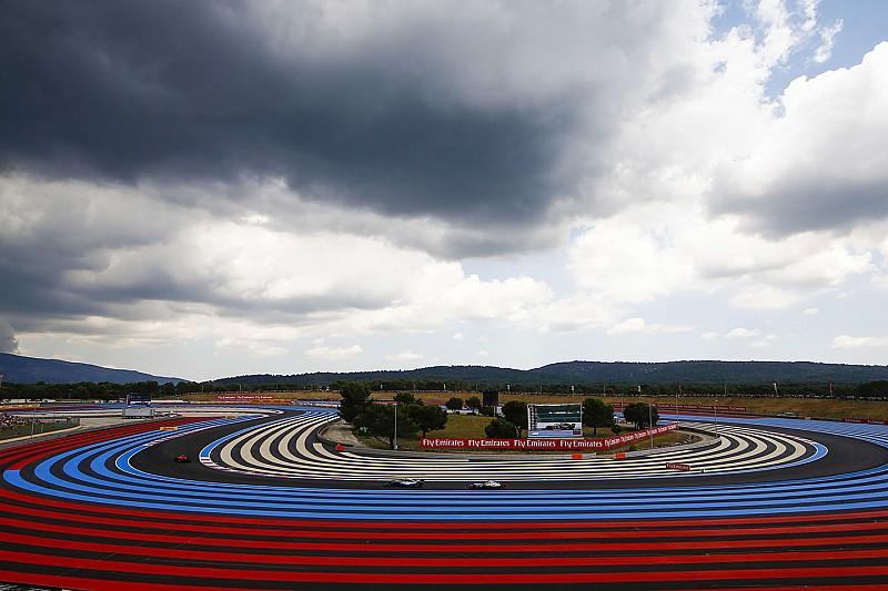 Káosz a Francia Nagydíj utolsó edzésén: viharos időmérő és futam várható az F1-ben