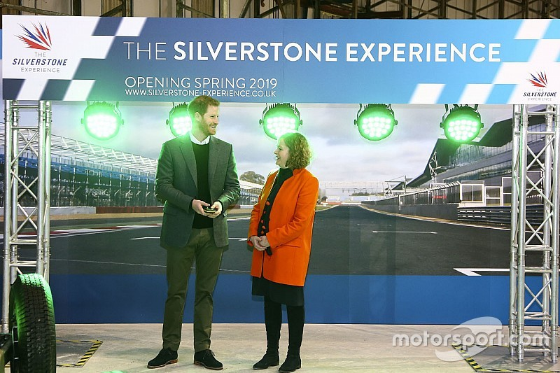 Prince Harry launches new Silverstone Experience project