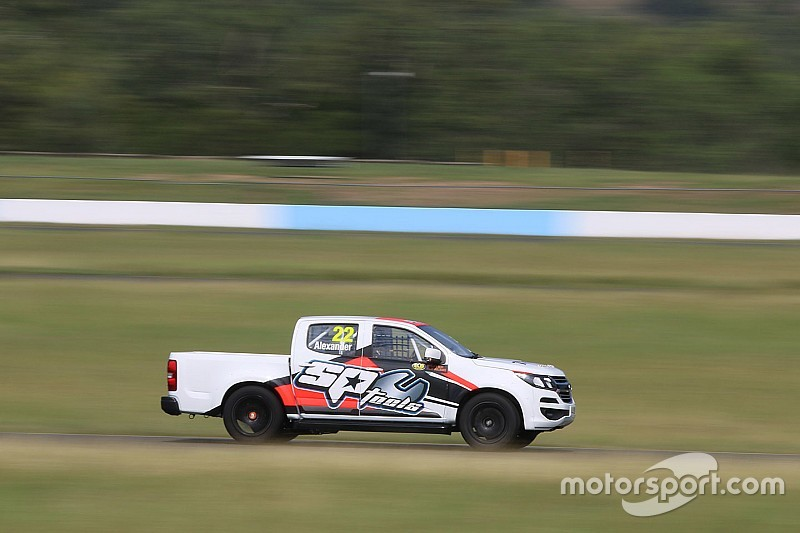 Five SuperUtes models hit the track