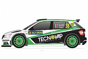 WRC Ultime notizie Ecco la livrea della Skoda Fabia che Scandola userà al Rally di Svezia