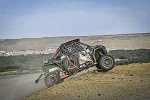 Dakar Résumé de course Buggys SxS - Garrouste en dauphin de Varela