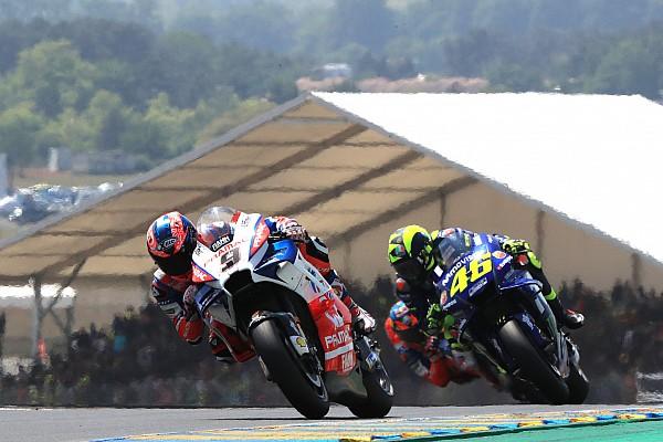 MotoGP Réactions Un choix de pneu avant opportun, clé du podium de Petrucci