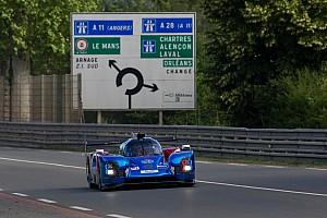 24 heures du Mans Interview Sarrazin :
